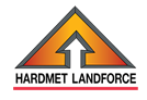 Hardmet Landforce wood chippers - logo
