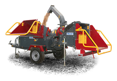 Duo wood chipper and green waste shredder - click here for information about our Duo range of combination wood chipper and green waste shredders